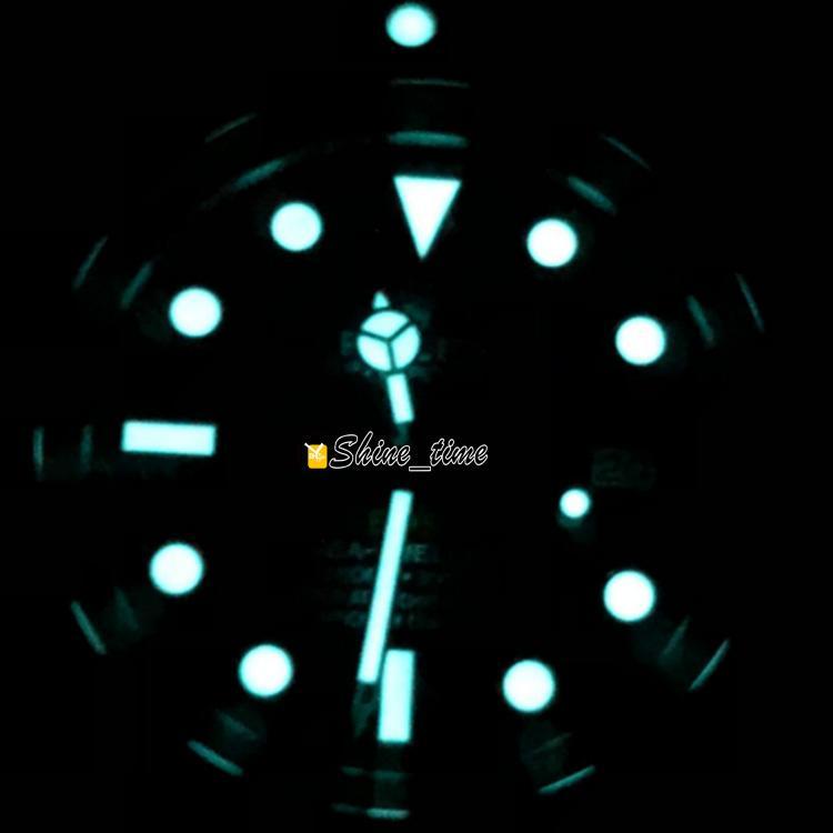 En Kaliteli N V7 Best Edition Süper Cal.3135 Otomatik Hareketi Siyah Seramik Çerçeve Blue Dial 126660 Erkek İzle Mavi Aydınlık Saatler