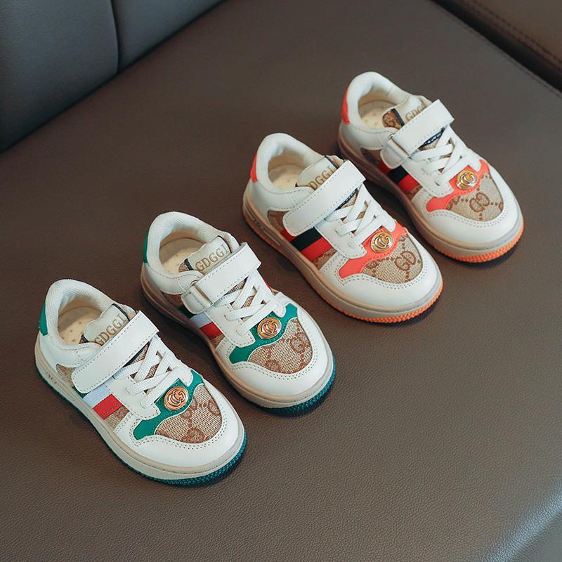 봄과 가을 아이들 캔버스 신발 소년 소녀 스포츠 신발 antislip 고무 바닥 유아 아이 패션 스니커즈 편안한 통기성 21-30