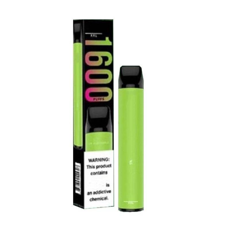 Hot Puff XXL Disposable Device Pod Kit E-cigarettes 1000mAh Battery 6.5ml Pods Cartridges 1600 Puffs Prefilled Vape Stick Pen VS Bar Plus Flex Max Bang