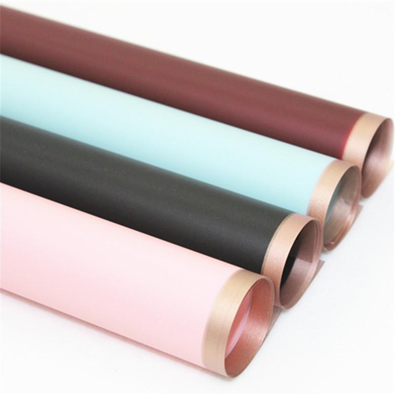 Embalaje de regalo PHNOM PENH JELLY PELÍCULA FOG FRAMEA DE PAPO DE PAPEL COREAN Papel impermeable Papel de envasado Material de embalaje T3i51691