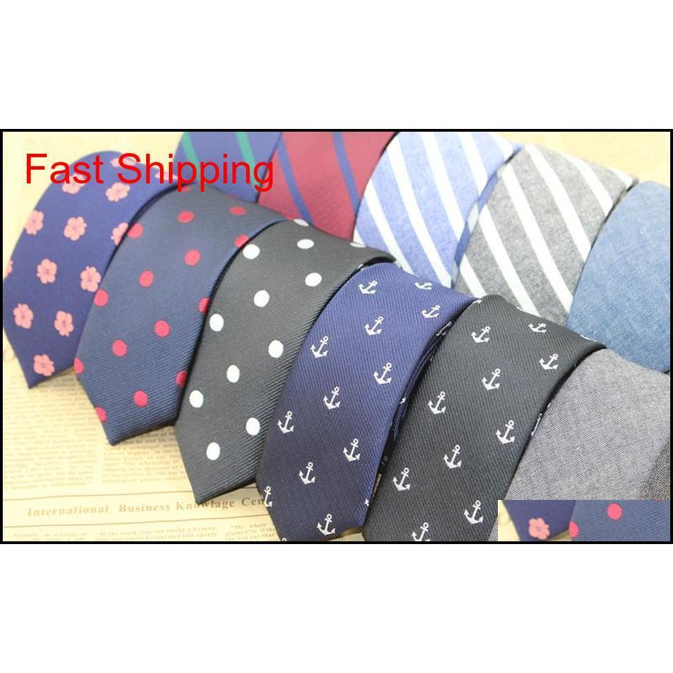 2016 new men 5cm neck polyester fibre neck ties knots tie men`s fashion narrow design pointed end necktie arder neck ties