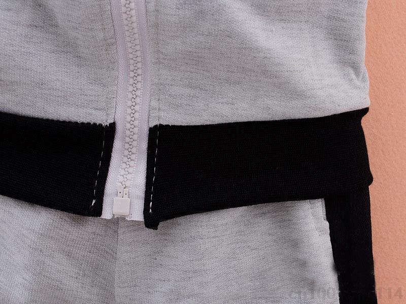 Toddler Bebek Erkek Kızlar Marka Suits Çocuk Spor Ceket + Pantolon 2 adet / takım Giysi Set Çocuk Eşofman
