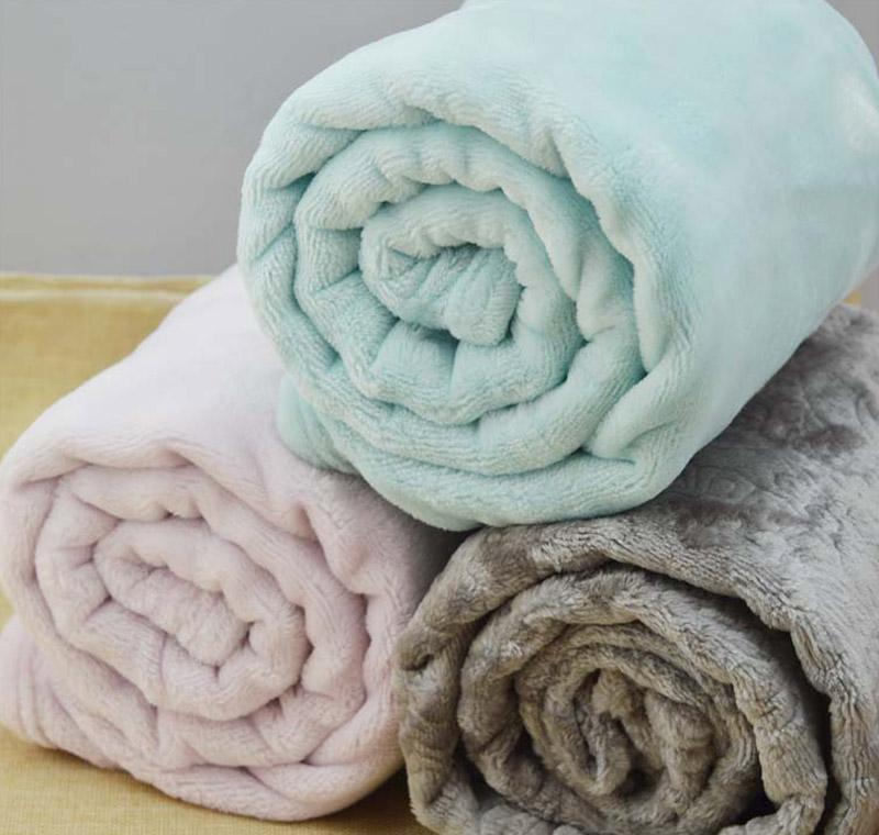 soft coral fleece pet blanket cute puppy dog cat bed mat warm comfy kennel mat for small medium and large dogs