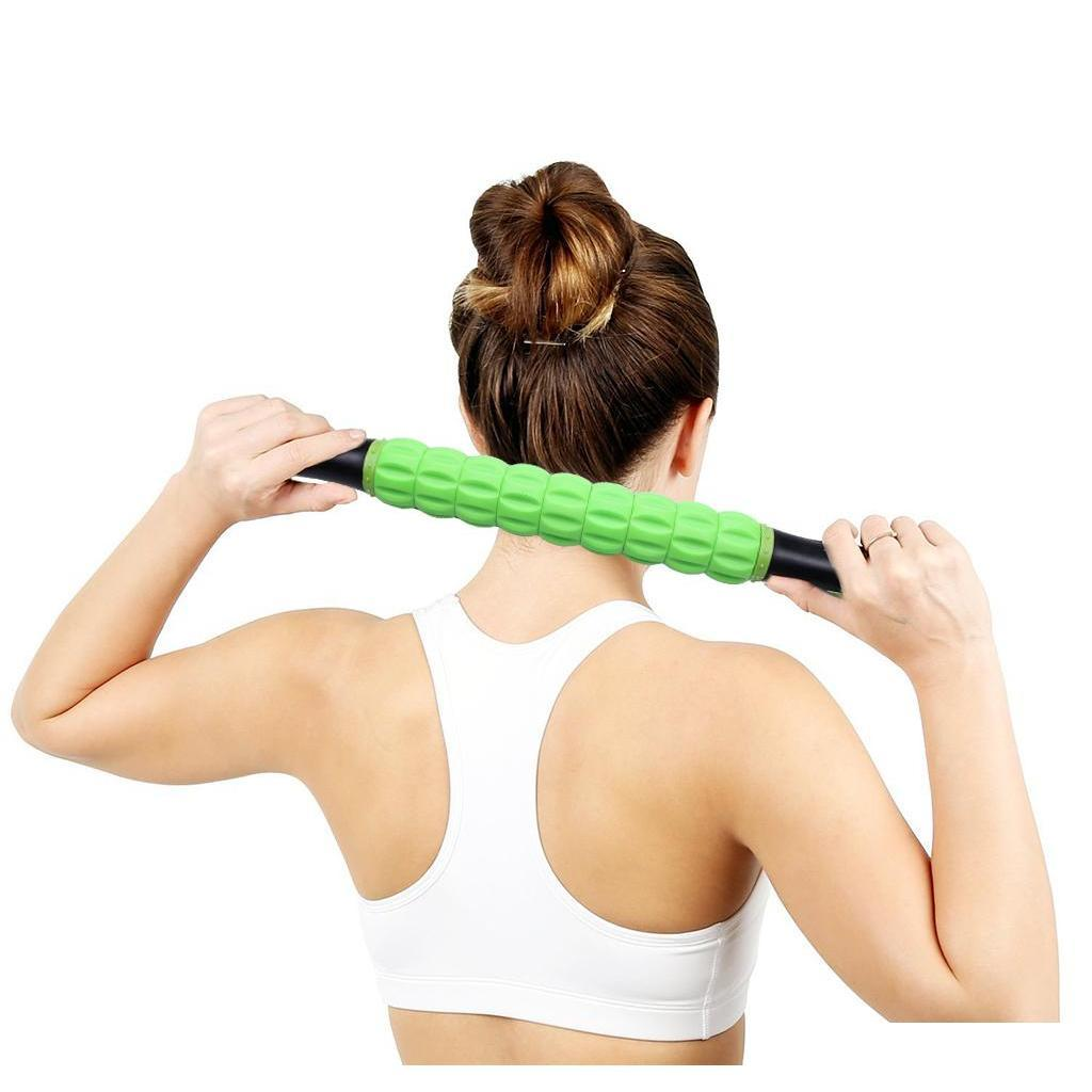 new your lose weight gym exercise roller leg body arm back shoulder muscle massager stick wholesale