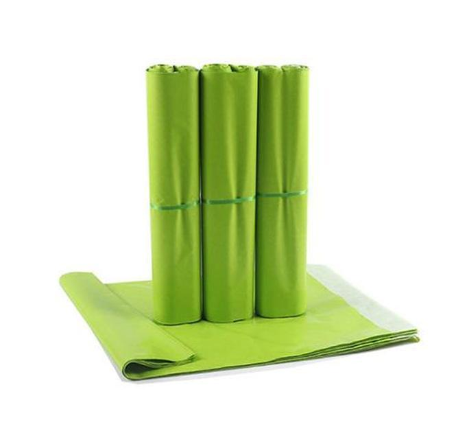 14*22cm green colorful courier envelope shipping bag mail bag waterproof plastic poly postal shipping mailing bags