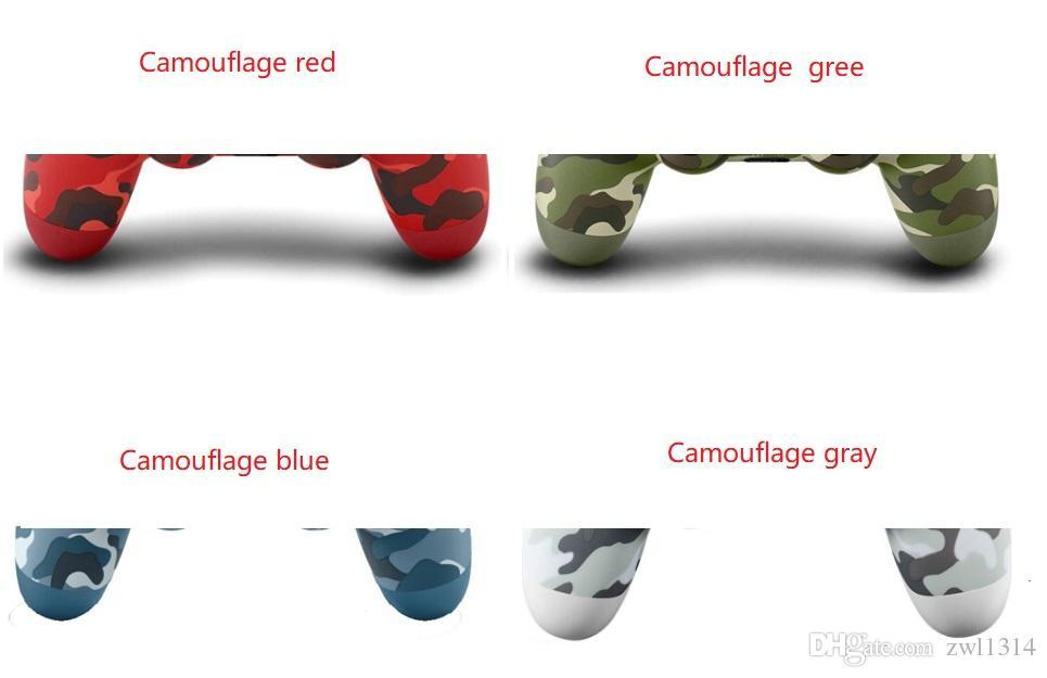 Camouflage 4 colori PS4 senza fili del gioco di Bluetooth Gamepad SHOCK4 controller PlayStation per PS4 controller con il pacchetto di vendita al dettaglio nuovo colore