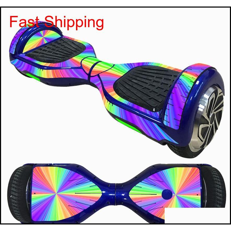 new 6.5 inch self-balancing scooter skin hover electric skate board sticker two-wheel smart protective cover case stickers