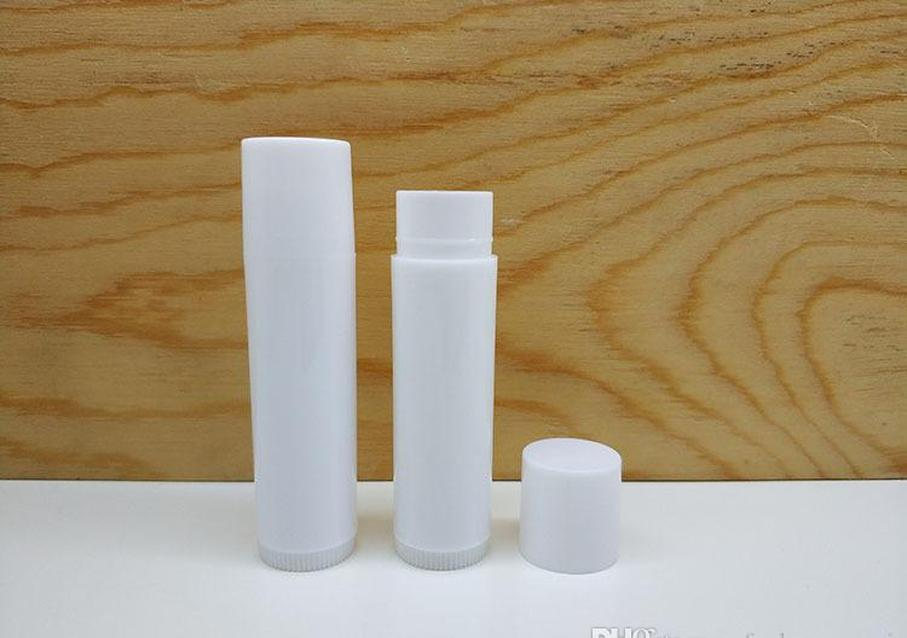 5ml empty lip gloss tubes mini plastic bottle cosmetic chapstick lipstick balm tube caps lip gloss containers