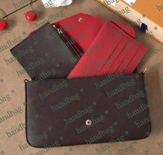 Klassische berühmte Designer-Handtasche einzelne Kreuzkörper Schulter-Stadtstreicherin-Handtasche Modekette Tasche drei in einer mit Box