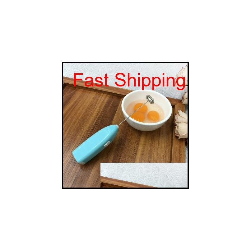 Electric Milk Frother Automatic Cream Whipper Coffee Shake Mixer Electric Hand-Held Coffee Egg Beater Drink Blender Zza1793 Sugya Aoth U8Dgs