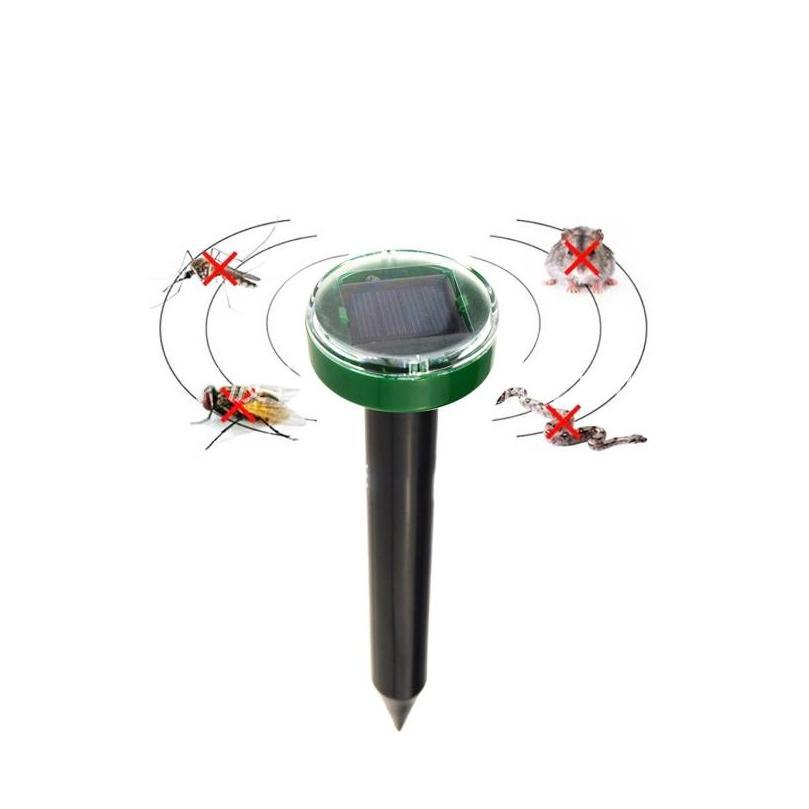 mole repellent solar power ultrasonic mole snake bird mosquito mouse ultrasonic pest repeller control garden yard equipment