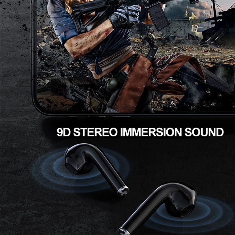На складе! Lenovo X9 HiFi TWS Bluetooth наушники V5.0 гарнитура с сенсорным управлением Спорт TWS Earbuds Sweatproof для iphone 12 мини хз макс 11