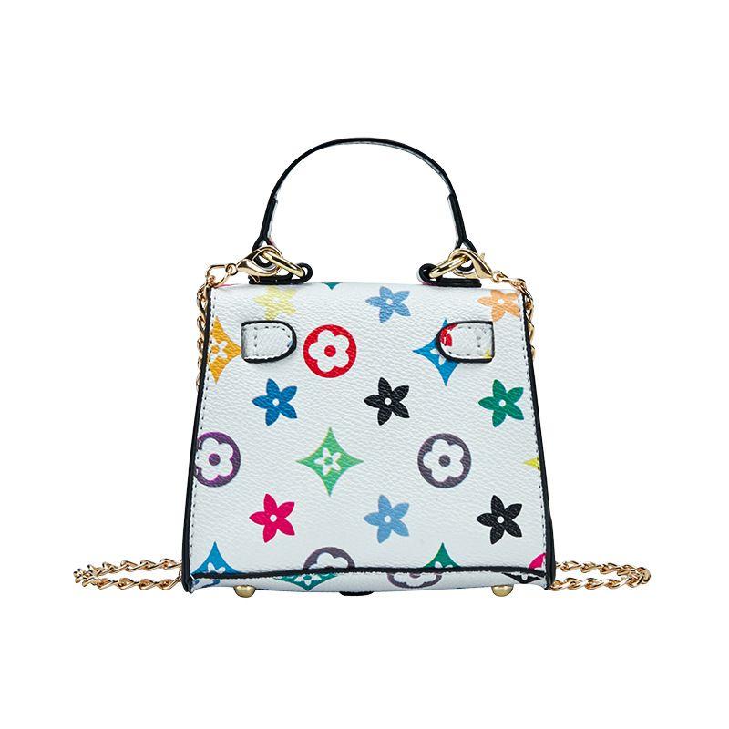 Mini bolso de mano para niñas 2020 Nuevas bolsas de cuerpo cruzado de princesa para niños Muchacha pequeña moneda billetera Bebé dinero cambio partido monedero