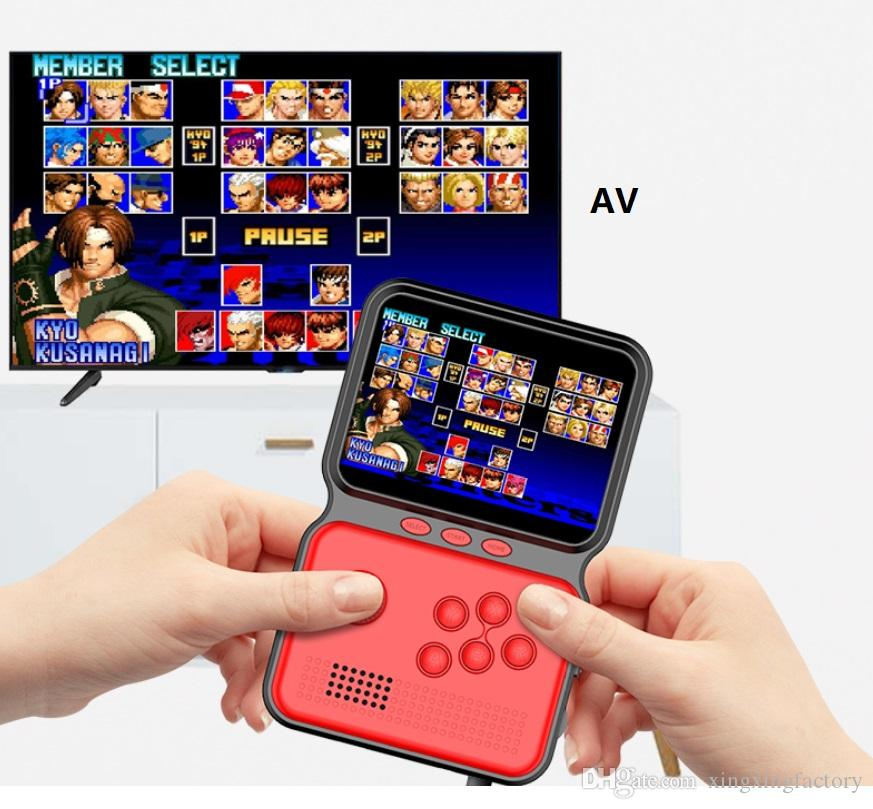 3.5 inch HD M3 Small Handheld Game Controller Portable Handheld Game Console Nostalgic Arcade Retro Game Console 16 Bit Video Games Player
