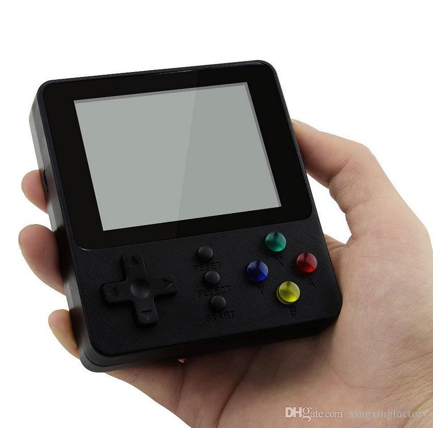 K5 Retro TV Video Game Console Portable Mini Doubles Handheld Games Box 500 in 1 Arcade FC NES Games Player for Children Xmas Toys
