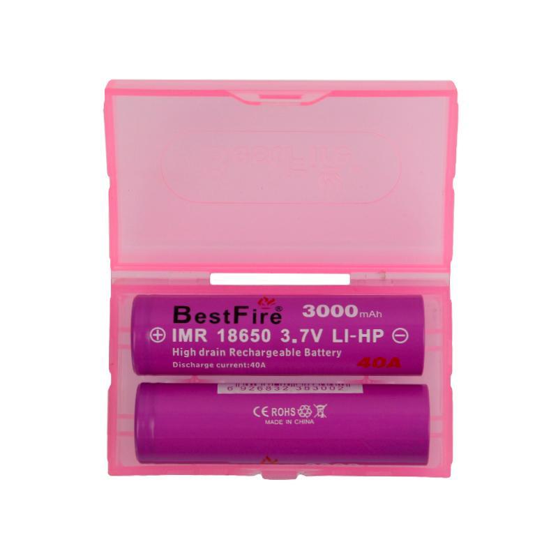 Ursprüngliche BestFire IMR BMR 18650 Batterie 2500mAh 3000mAh 3100mAh 3200mAh 3500mAh 35A 40A wiederaufladbare Lithium-Vape-Batterien 100% authentisch