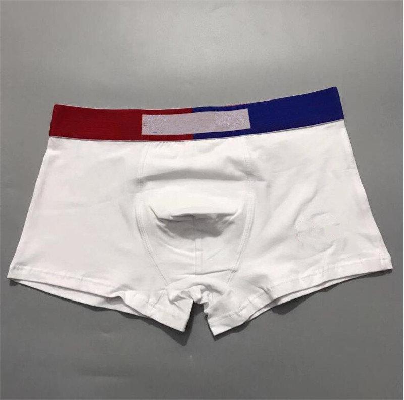 패션 망 소년 속옷 편지 인쇄 권투 면화 통기성 underpants 남자 cuecas 반바지 u 볼록 짧은 바지 높은 허리 박스업 크리스마스