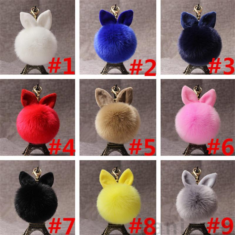 Plush Toys Hair Bunny Stuffed Doll For Lover Friends Festival Gift Adorable Plush Pendant Party Favor T1I3236