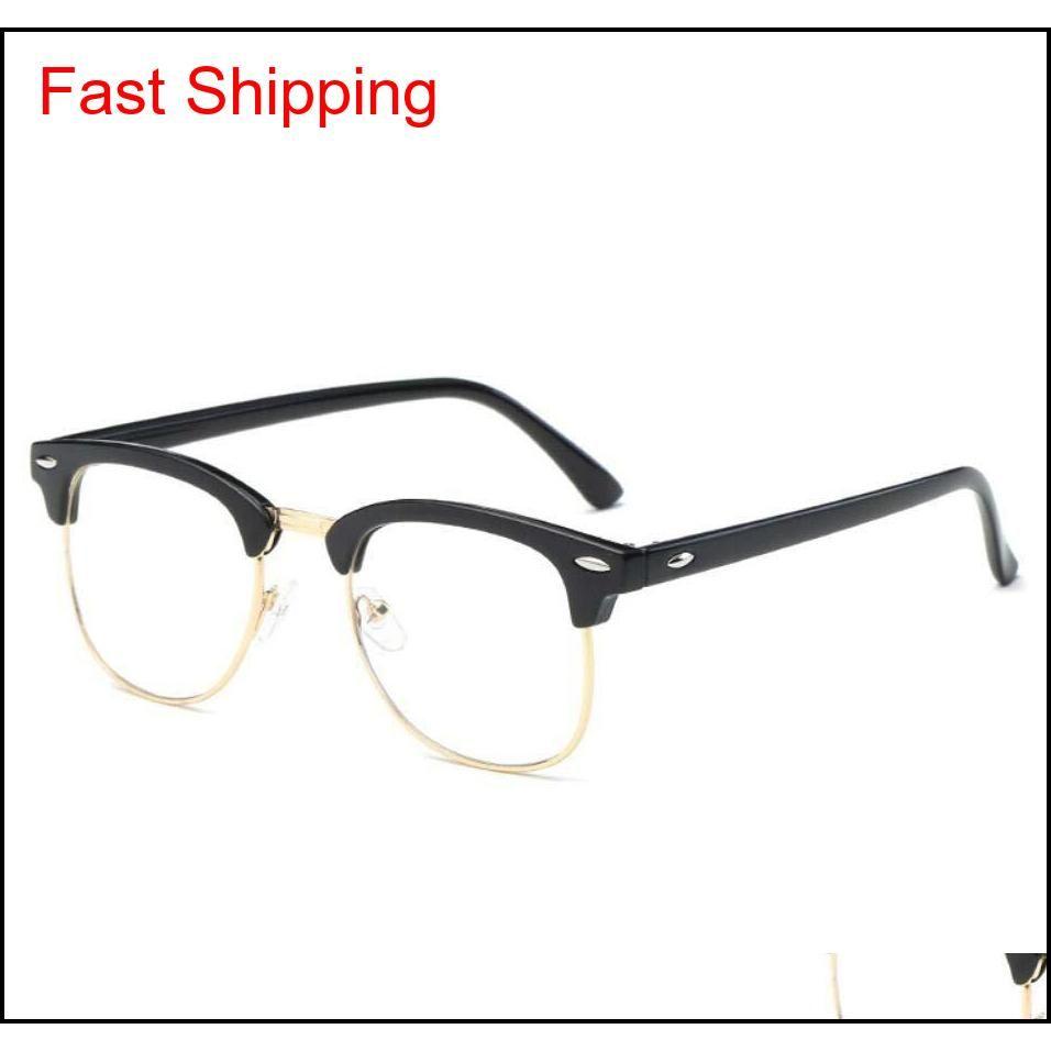 fashion classic club sunglasses frames anti blue light designer eyeglasses frame bands gafas de sol men women gl095 eyewear with bag