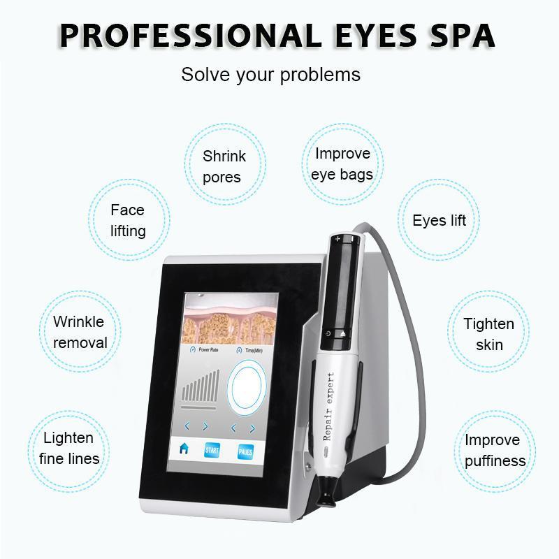 أحدث المحمولة البلازما القلم آلة rf للعيون رفع حقيبة مكافحة العين نمط الظلام دائرة الجمال صالون سبا dhl