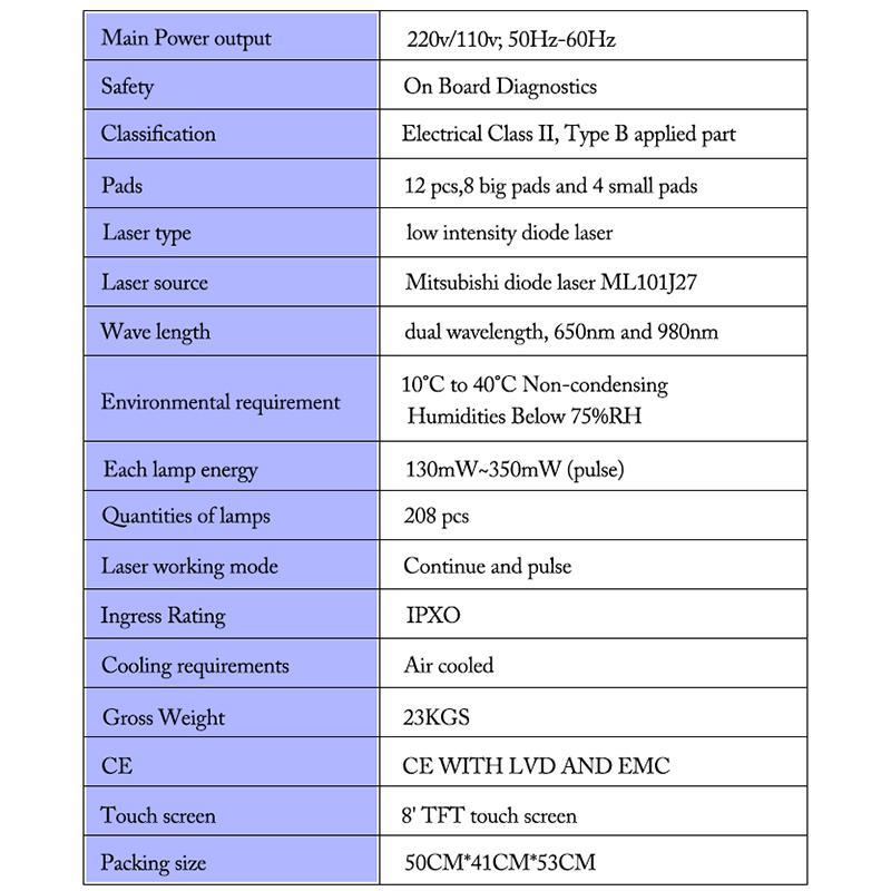 전문 휴대용 다이오드 Lipolaser Lipo 레이저 체중 감량 비 침습적 인 12 패드 650nm980nm 슬리밍 기계 지방 레코딩 미용 장비