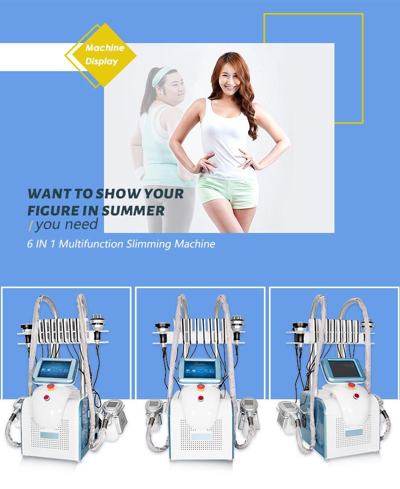Cryolipolysis fat freeze machine lipolaser personal use Cryotherapy lipo laser ultrasonic cavitation RF slimming Beauty machine