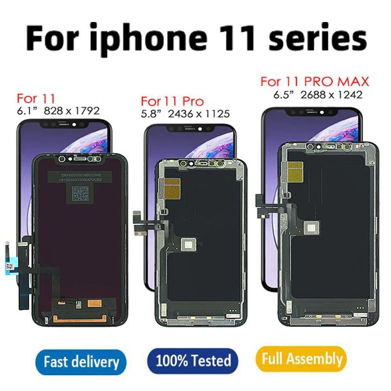 Panneaux pour iPhone 11 11Pro Pro Max écran LCD OLED TFT Écran tactile Touch Remplacement de remplacement