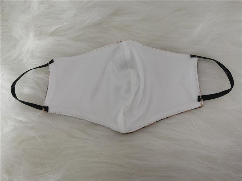 Maschera viso unisex lettera stampa antipolvere maschere impermeabile lavabile traspirante bocca-mufflo trendy uomini donne protettive maschera viso i Natale