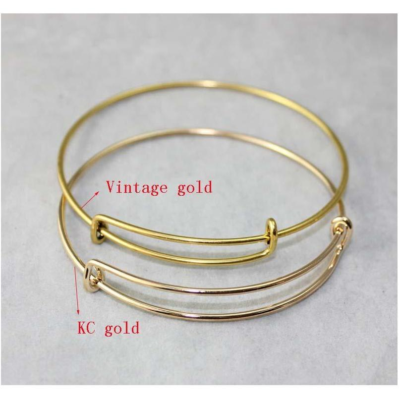 new fashion expandable wire bangle bracelets diy jewelry pick size cable wire bangle adjustable charm bracelet accessories wholesale