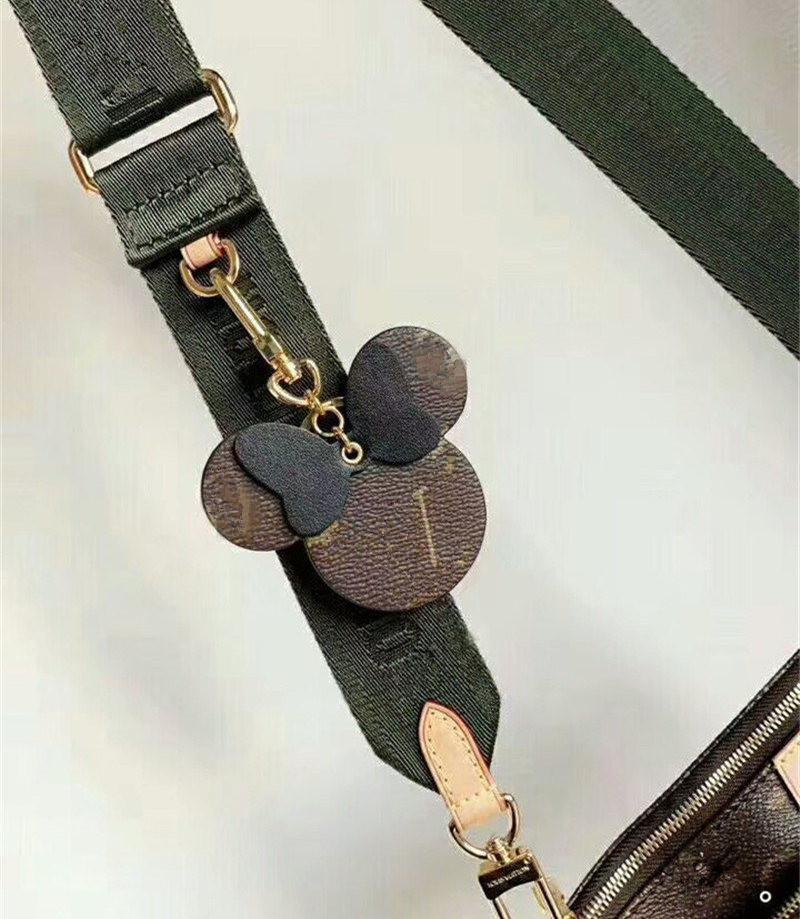 أزياء المرأة المفاتيح كبيرة الأذن كيرينغ لطيف بو مفتاح سلسلة حقيبة سحر بوتيك سيارة مفتاح حامل الماوس تصميم الدائري حلقة رئيسية الملحقات 8 * 8 سنتيمتر 6 ألوان