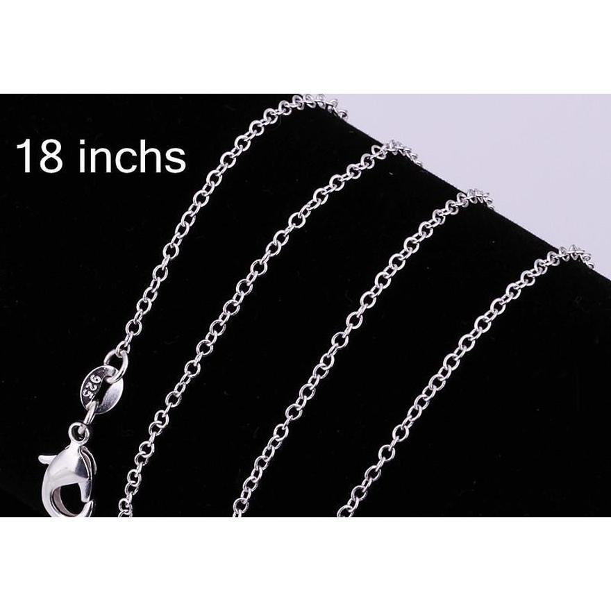 wholesale - lowest price christmas gift 925 sterling silver fashion necklace+earrings set ys180