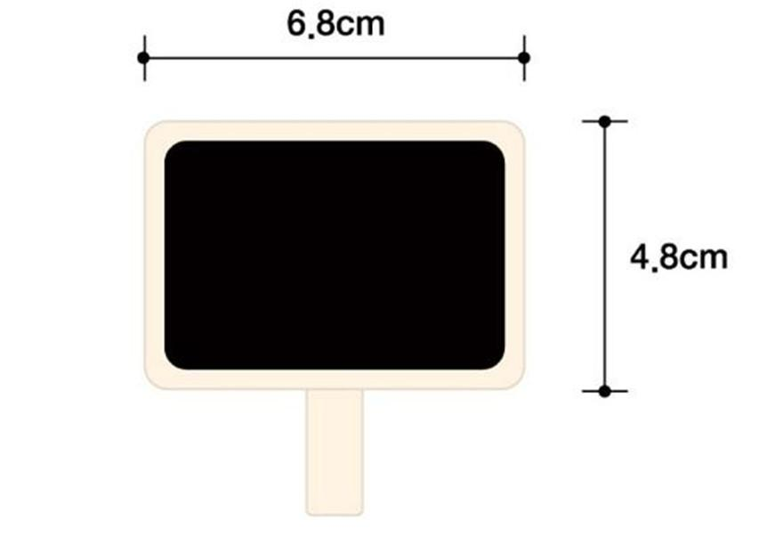 Mini Holznote Tafel Klammern Retangle Tafel Blackboard Clip Tag Nachricht Bord Für Hochzeitsparty Papier Foto DIY
