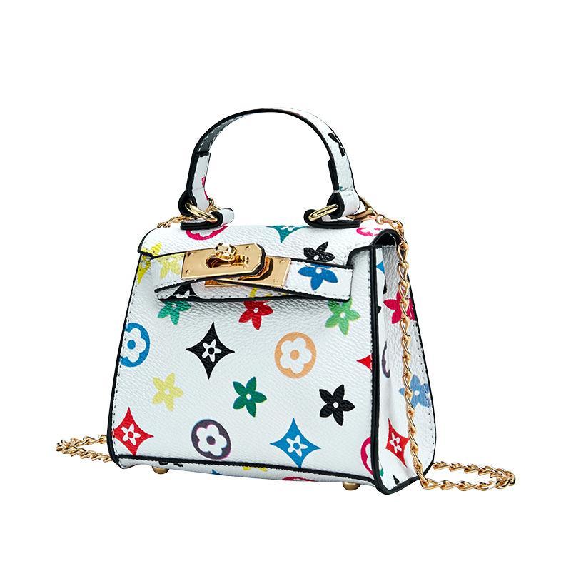 Mini Handtasche für Mädchen 2020 Neue Prinzessin Kreuz Body Taschen für Kinder Mädchen Kleine Münz Brieftasche Tasche Baby Geldwechsel Party Geldbörse