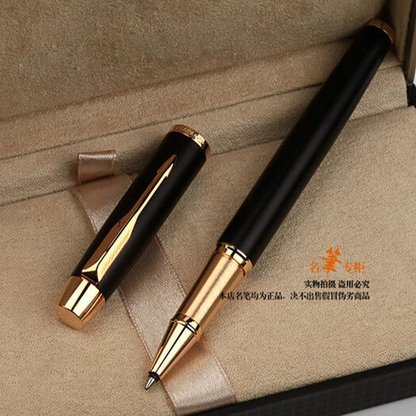 Multi colore rullo a sfera penna firma penna a sfera in metallo argento scuola ufficio fornitori di cancelleria gel penne di scrittura