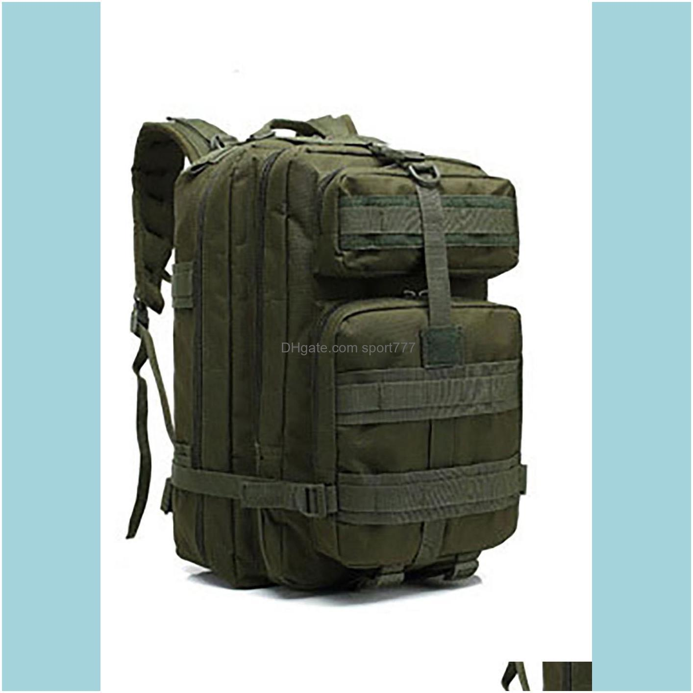 Outdoor Mountaineering Tactical Backpack Increased 3P Attack Backpack Army Fan Tactical Backpack Sports Cycling Travel Camping Bag