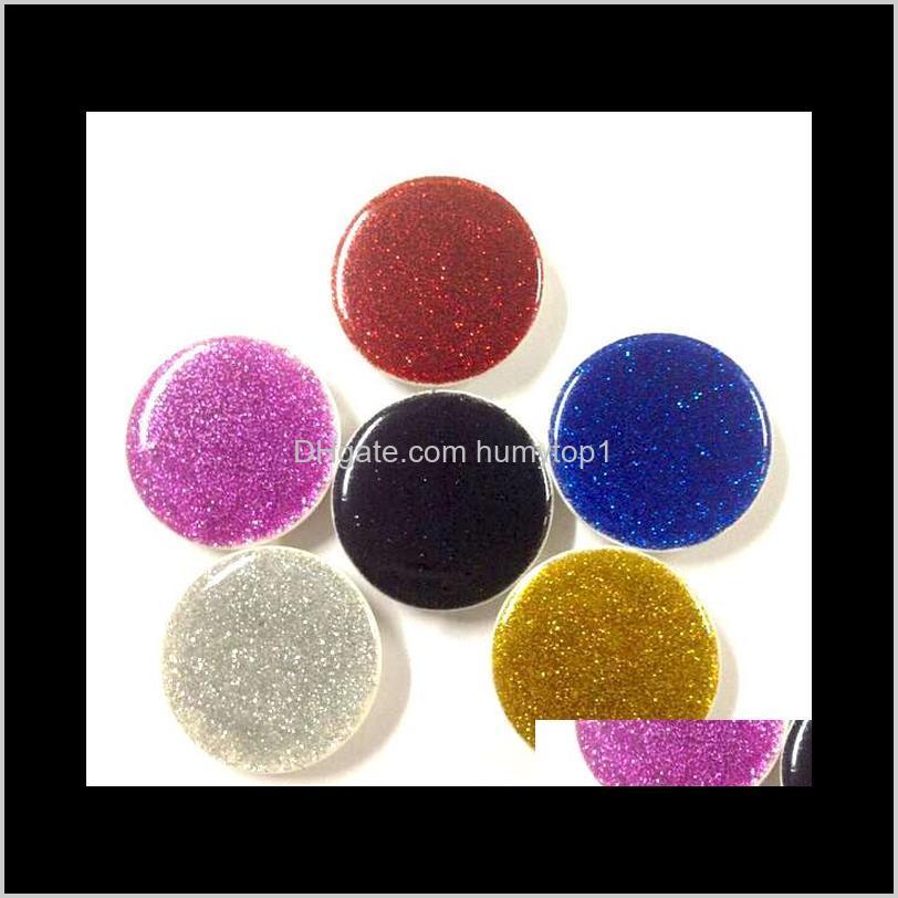 6 color universal cell phone holder glitter holder with opp bag stand 360 degree round holder