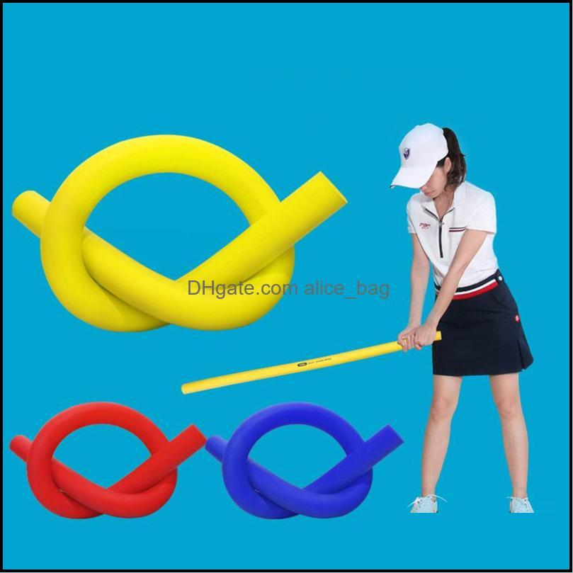Soft Stick Golf Strength Training Aids Swing Deformation Resistant High Density EVA Sport Warm Up Muscle Workout Whip Balance