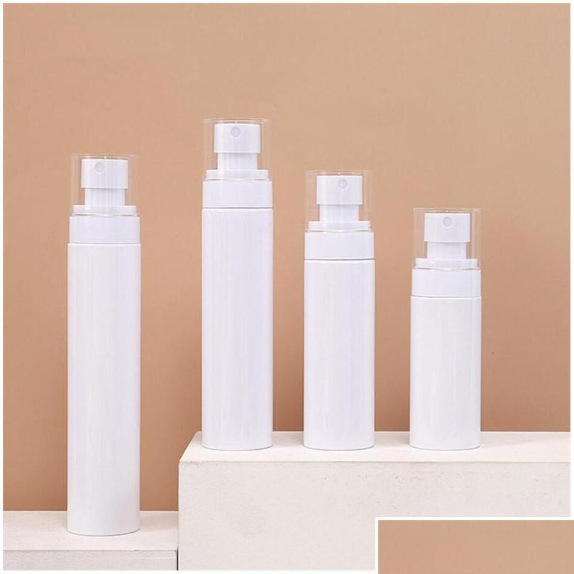 60ml 80ml 100ml 120ml empty spray bottle plastic lotion bottles refillable cosmetic containers spray atomizer bottle for travel