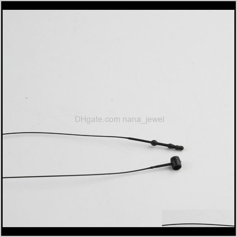 3`` 4`` 5`` 6`` 7`` 9`` black snap lock pin security loop plastic tag fastener tie 1000pcs/bag