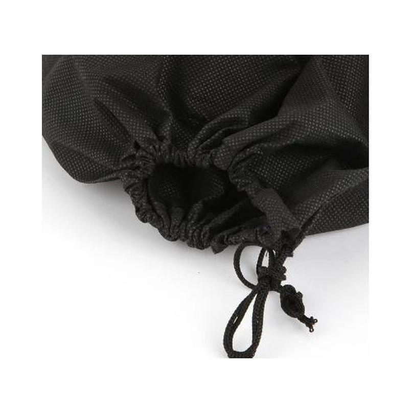 case black/white non-woven travel storage shoe dust-proof tote dust bag travel shoe storage bag p