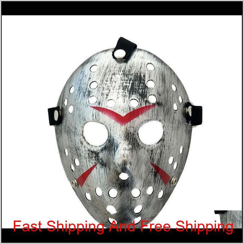 new jason vs friday the 13th horror hockey cosplay costume halloween killer masquerade mask funny halloween f qylzph