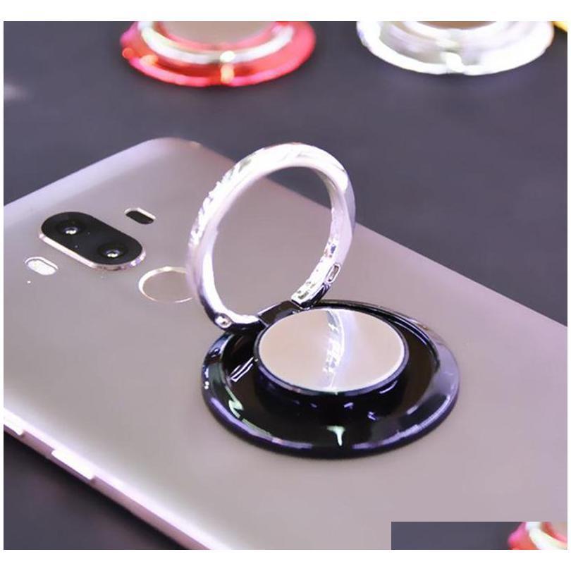 car mount phone holder finger ring buckle air vent magnetic universal cell phone holder one step mounting reinforced magnet safe secure
