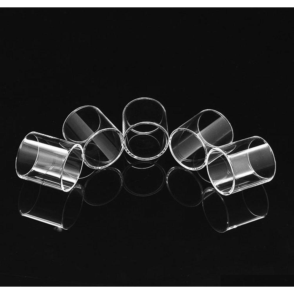 clear replacement pyrex glass tube for smok tfv12 prince tfv8 big baby rba tfv8 x baby vape pen 22 plus tank