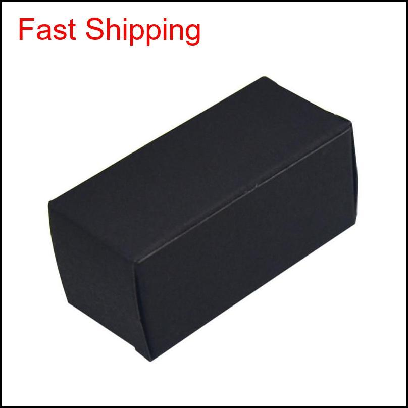 cardboard boxes white black brown paper package essential oil bottle organizers storage box diy gift carton pack box