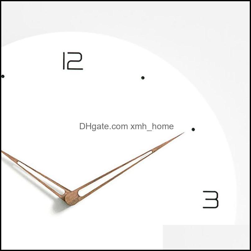 Wall Clocks Clock Modern Minimalist Living Room Home Fashion Guess Women Watch Atmosphere Silent Relogio Parede Quartz Nordic 50Q275