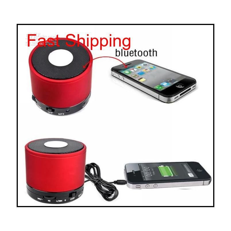 2018 hot mini speaker s10 multi-color mini player bluetooth wireless stereo speakers loudspeaker