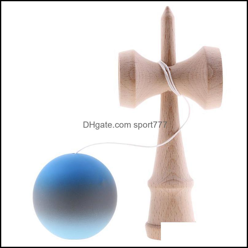 Party Masks Kendama Ball Game Bilboquet W/ String Wooden Cup Child Educational Balance Toy
