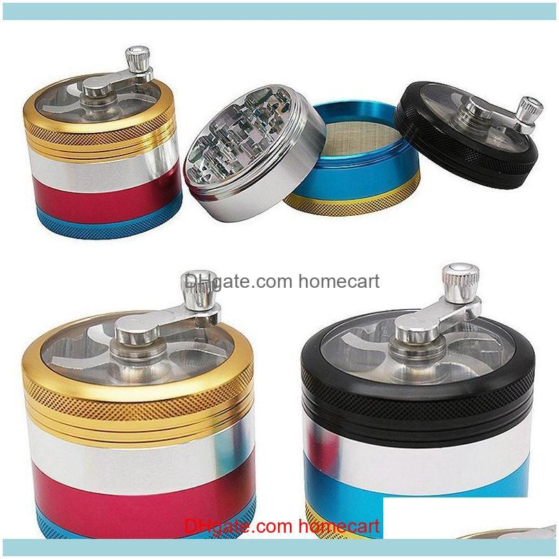 Ship By Sea 5 Styles New Design Black Knight Grinder 3 Layers Tobacco Grinder 50mm Diameter Herb Grinders For Smoking Zinc Alloy