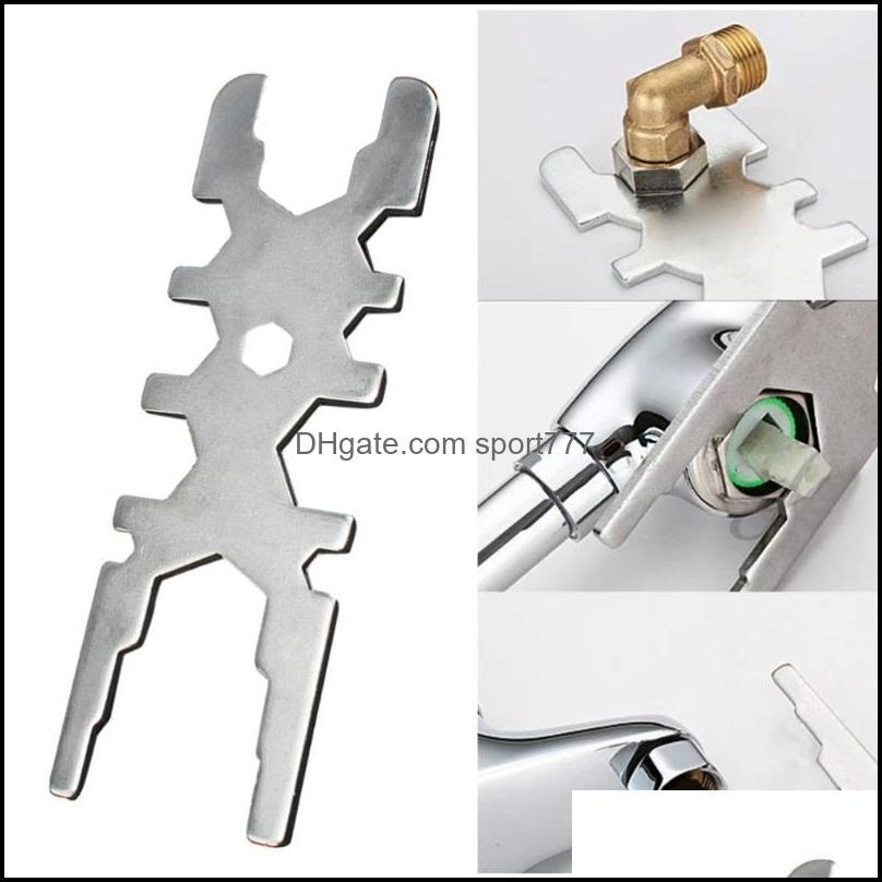 Kitchen Faucets 1 Pc Faucet Wrench Portable Hard Bubbler Fixing Parts Spanner Repair Tool For Shop Home