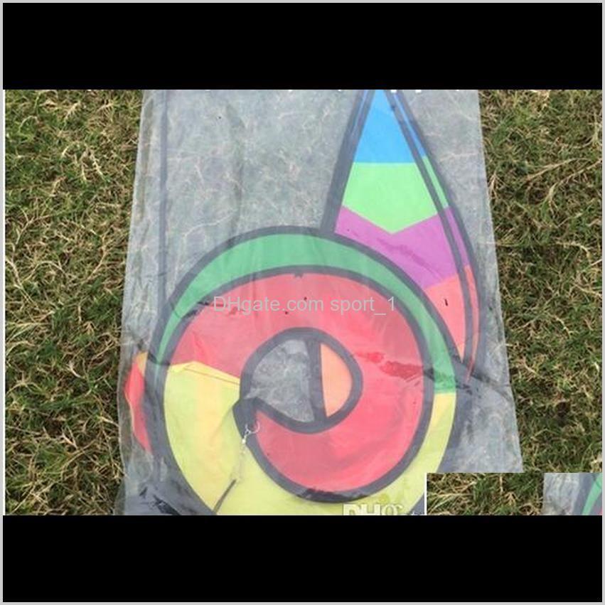 2020 new rainbow stripe grid windsock hot air balloon wind spinner garden yard outdoor decoration in stock